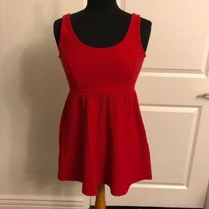 Forever 21 mini red dress
